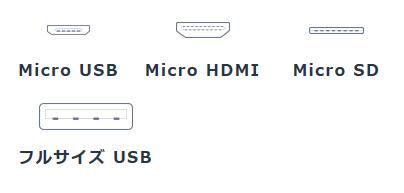 TransBookMini T102HAインターフェイス