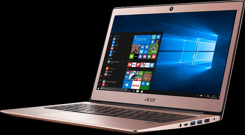 Acer Swift1 指紋認証