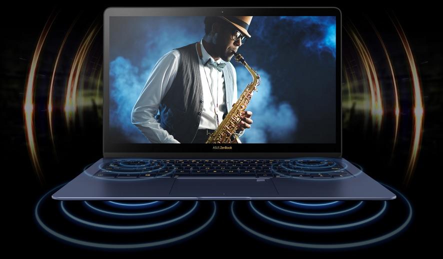 ASUS ZenBook 3 Deluxeのサウンド