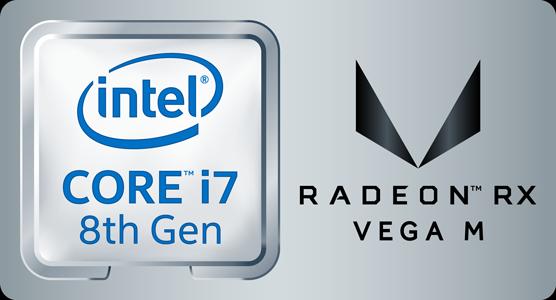 Core i7-8709G Radeon RX Vega M GH グラフィックス